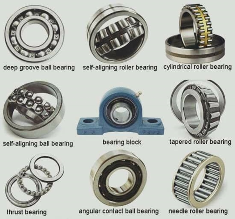 So many Bearing Types to choose from.